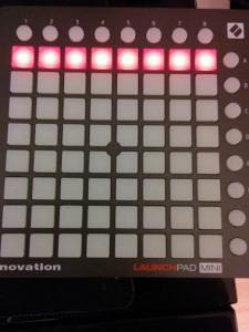 Launchpad MINI Novation with GrandMA2