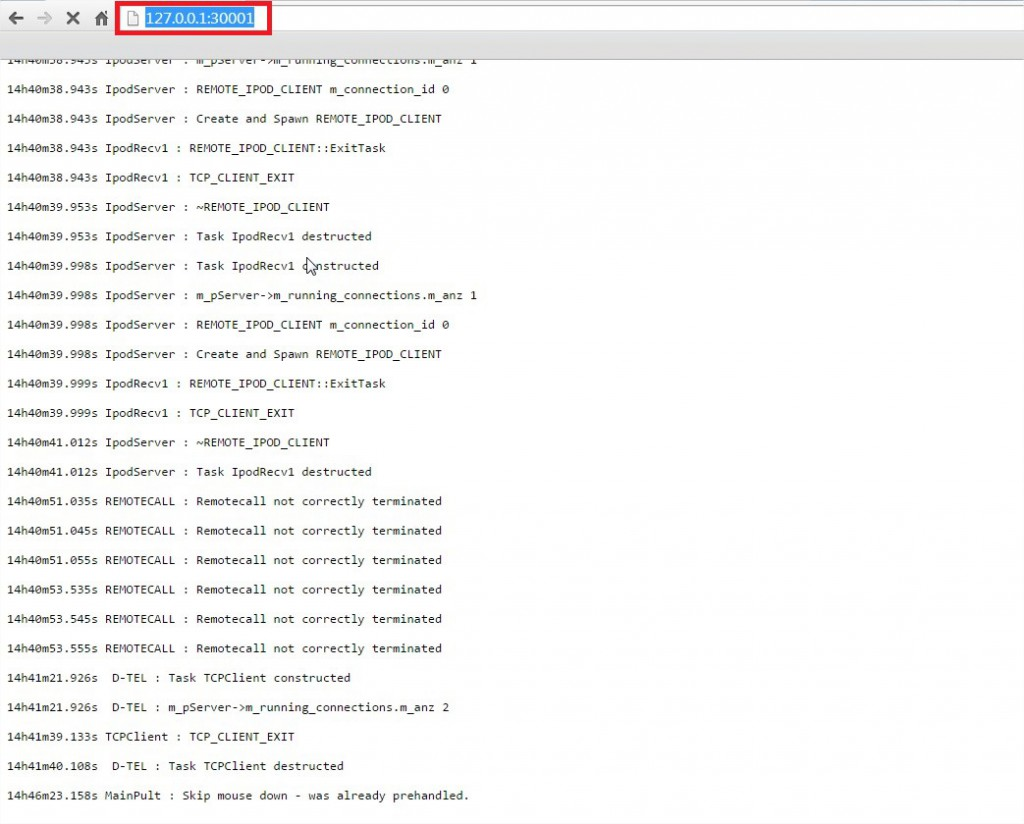 127.0.0.130001 - Google Chrome