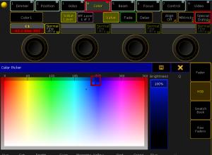 Colors GrandMA2